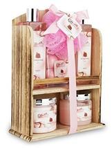 Spa Gift Basket With Lovely Pomegranate Fragrance, Best Valentine's Day,... - $30.98