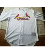 MLB St. Louis Cardinals Jersey Size S Genuine Merchandise Polyester SRA - $22.24