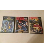 BATMAN 3 DVDs: MONSTER MAYHEM, ANIMATED AND UNLIMITED: ANIMAL INSTINCTS  - $11.30