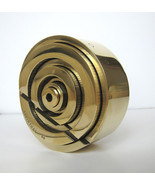 "Tony Rosenthal 6"" Disc 1968 Hand Cut Brass Unique Table Top Sculpture JK... - $9,900.00"