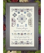 Quaker Peace cross stitch chart My Big Toe Designs - $12.00