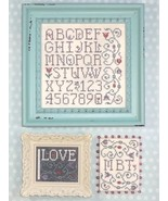 Alphablooms (3 designs) cross stitch chart My B... - $8.00