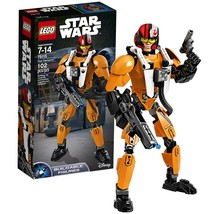 Lego Year 2016 Star Wars Series 10 Inch Tall Figure Set #75115 - POE DAM... - $39.99