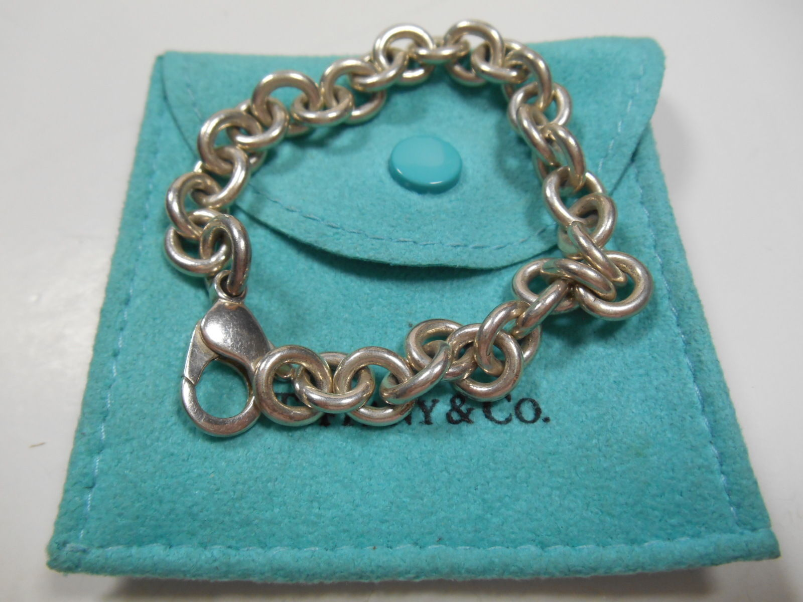 5a79662ac93a2 Tiffany & Co. Round Link Charm Bracelet and 32 similar items