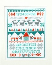 Winter Sampler cross stitch chart Tiny Modernist Inc - $8.10