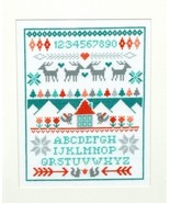 Winter Sampler cross stitch chart Tiny Modernis... - $8.10