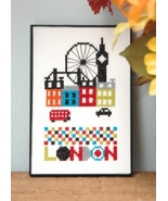 London cross stitch chart Tiny Modernist Inc - $7.20