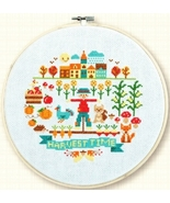 Harvest Time cross stitch chart Tiny Modernist Inc - $8.10