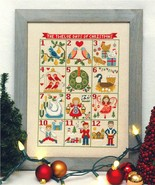 12 Days Of Christmas cross stitch chart Tiny Mo... - $10.80