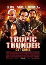 Tropic Thunder Original Movie Poster 27X40, 27x40 Double-Sided Regular - $35.00