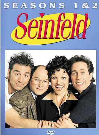Seinfeld - First & Second Seasons 1 & 2 (DVD, 2004, 4-Disc Set) New TV Series