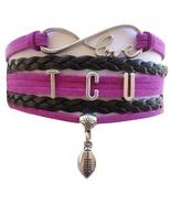 Texas Christian University TCU Horned Frog Fan Shop Infinity Bracelet Je... - $12.99
