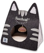 Touchcat Kitty Ears' Travel On-The-Go Folding Designer Fashion Pet Cat ... - $29.23