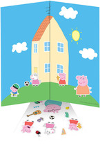 Colorforms(R) Fun Pack Re-Stickable Sticker Set-Peppa Pig - $1.33