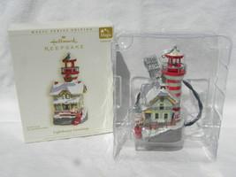 2006 Hallmark Keepsake Lighthouse Greetings Series Lighted Christmas Orn... - $19.99
