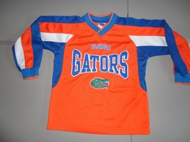 Orange Mighty Mac Florida Gators Embroidered L/S NCAA Screen Jersey Yout... - $22.16