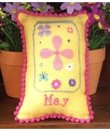 May What's In Your Jar cross stitch chart Needl... - $5.00