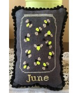June What's In Your Jar cross stitch chart Need... - $5.00