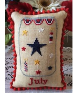 July What's In Your Jar cross stitch chart Need... - $5.00