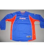 Blue Nike Elite Florida Gators Sewn Dri-Fit L/S NCAA Jersey Shirt Adult ... - $33.54