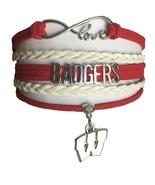 University of Wisconsin Badgers Fan Shop Infinity Bracelet Jewelry - $12.99