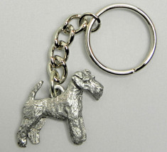 Wire Fox Terrier Dog Keychain Keyring Harris Pe... - $9.48