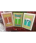 Holiday Don'ts cross stitch chart Needle Bling ... - $9.00