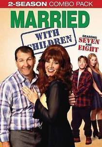 Married With Children Complete Seventh & Eighth Season 7 8 DVD Set TV Series New