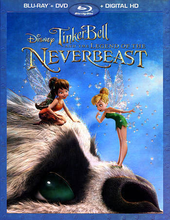 Legend of the NeverBeast (Blu-ray/DVD, 2015, 2-Disc Set Digital Copy) New