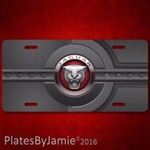 Jaguar Aluminum Metal Car Auto License Plate Ta... - $12.99