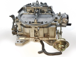 1904 Remanufactured Rochester Quadrajet Carburetor 4MV 80-89 Electric image 4