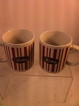 HERSHEY'S HOUSTON HARVEST --SET OF 2 COFFEE MUGS---RETRO- #31162  FREE S... - $17.95