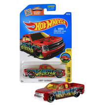 NEW 2015 Hot Wheels 1:64 Die Cast Car HW ART Cars Chevy Silverado 10/10 ... - €12,79 EUR