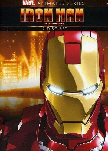 Iron Man: The Complete Animated Series (DVD, 2012, 2-Disc Set) New TV Cartoon