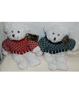Pair of March of Dimes Bears wearing Sweaters - $9.00