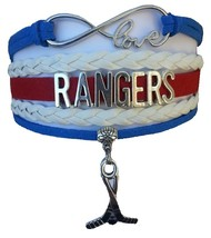 New York Rangers Hockey Fan Shop Infinity Bracelet Jewelry - $12.99