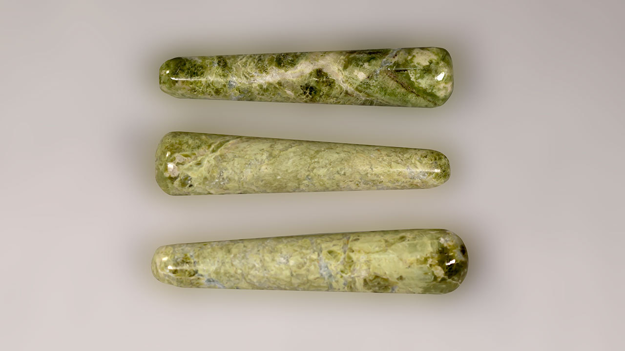 Primary image for Vesuvianite aka Vesonite Round Massage Wand - Healing Wand