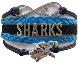San Jose Sharks Hockey Fan Shop Infinity Bracelet Jewelry - $12.99