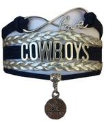 Dallas Cowboys Football Fan Shop Infinity Bracelet Jewelry - $9.99