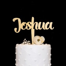 Personalized Custom Name Cake Topper Birthday Anniversary Toppers Decora... - $16.66+