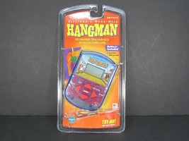 New Hangman Electronic Hand Held Video Game Milton Bradley Hasbro Hang S... - $16.78