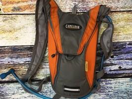 Gray/Orange CAMELBAK Hydrobak Hydration Pack Water Bottle Backpack - $402,17 MXN