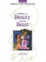 Beauty and the Beast : Easy Piano Songbook Sheet Music Song Book - $7.40