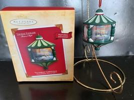 Hallmark Keepsake Ornament Victorian Christmas Thomas Kinkade Movement 2004 - $7.50