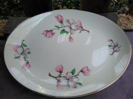 Vintage Rhythm by Homer Laughlin Oval Platter B52N4 - $14.85