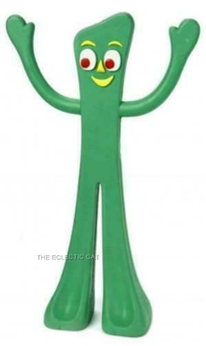 Primary image for Classic TV Nostalgic Green GUMBY RUBBER DOG TOY