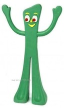 Classic Tv Nostalgic Green Gumby Rubber Dog Toy