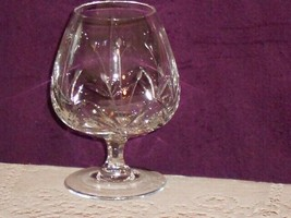 Mikasa Crystal PETITE POINTS Brandy Snifter Petit Points as-is - $15.00