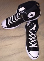 Converse Chuck Taylor All Star Syde Street Mid Leather Black Mens Traine... - $75.19