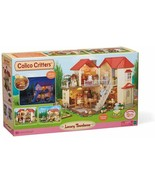 Calico Critters Luxury Townhome With Lights 4 Bedrooms Brand  New Open box - $82.19